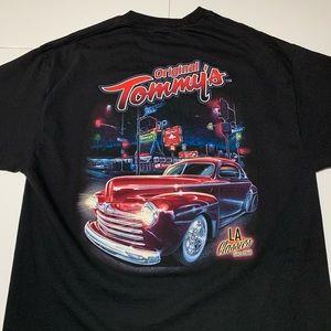 Tommy's Classic Car T Shirt Mens Size XL
